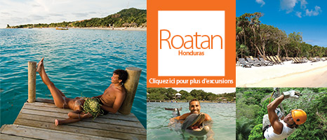 Excursions à Roatan