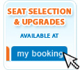 My Booking details and Seat selection, upgrades and more